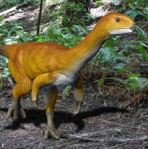 Cretaceous Resort - Chilsaurus - Nobu Tamura