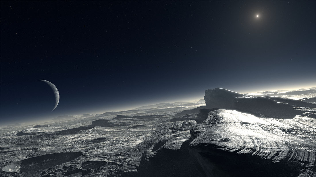 European Southern Observatory - Artist Interpretation of Pluto