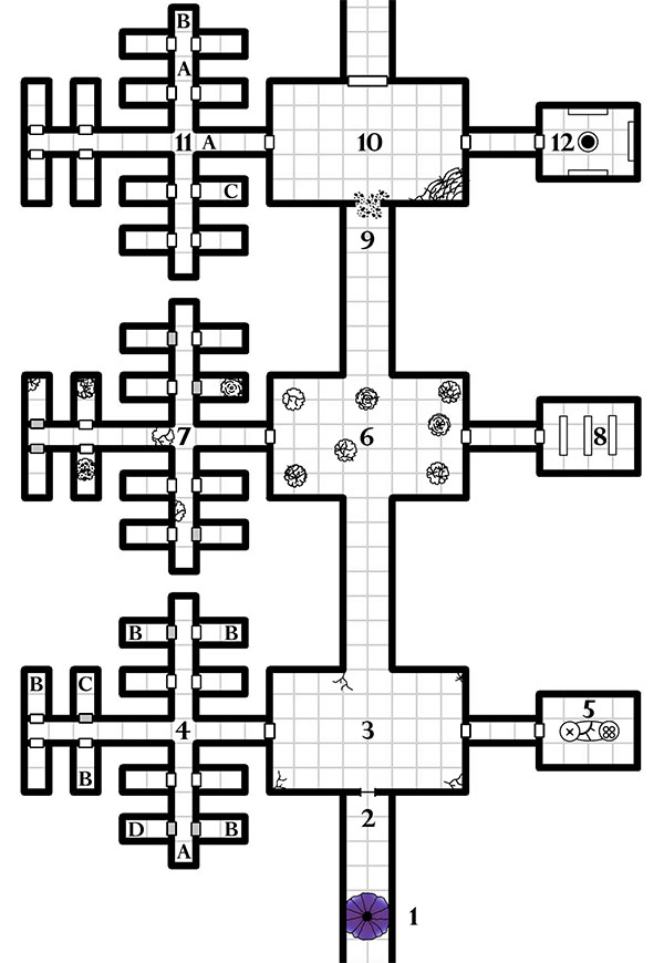 The Complex of Zombies - Map