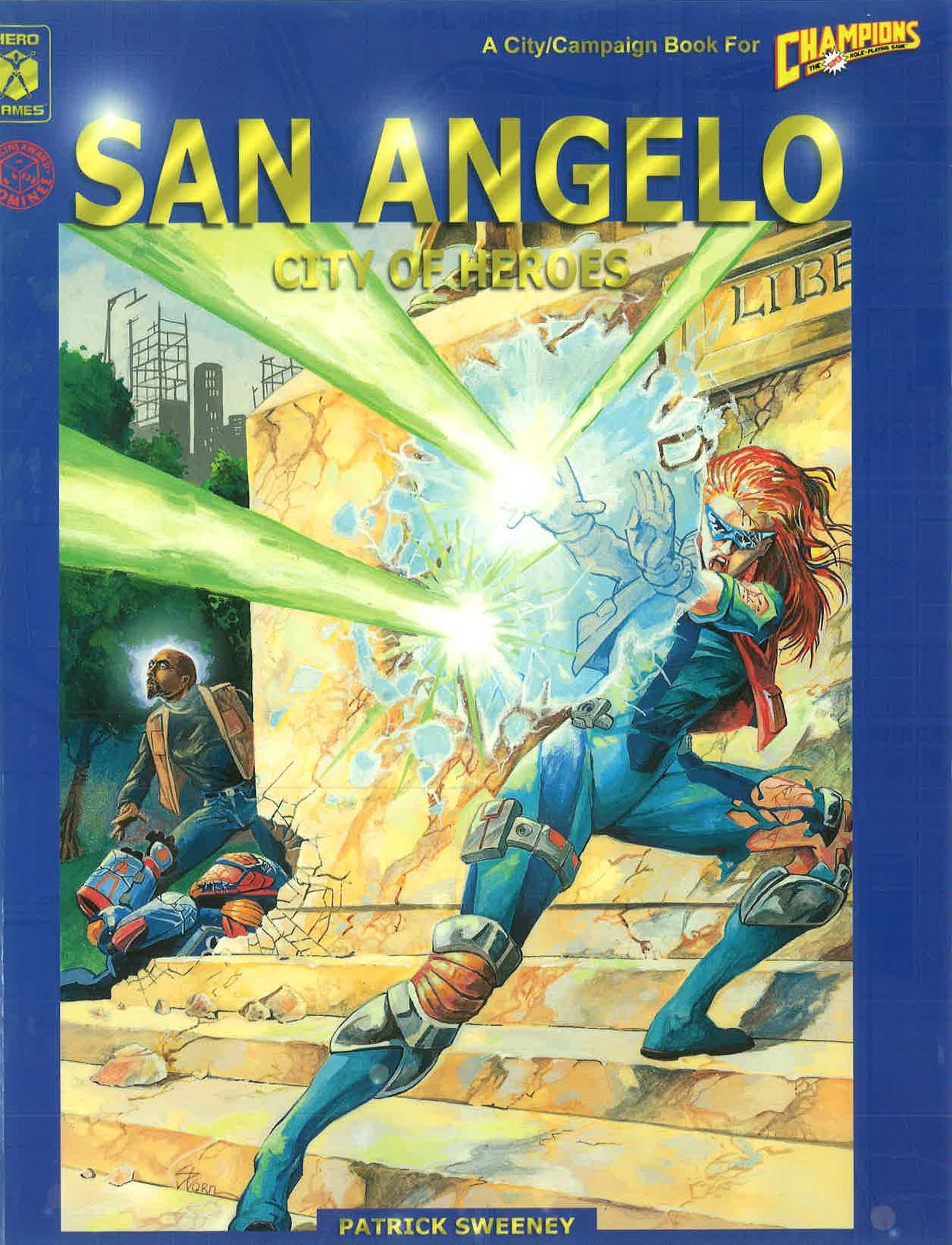 San Angelo: City of Heroes - Gold Rush Games