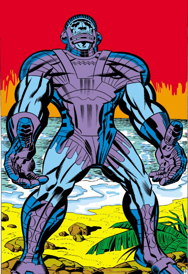 The Kree Sentry - Jack Kirby (Fantastic Four #64)