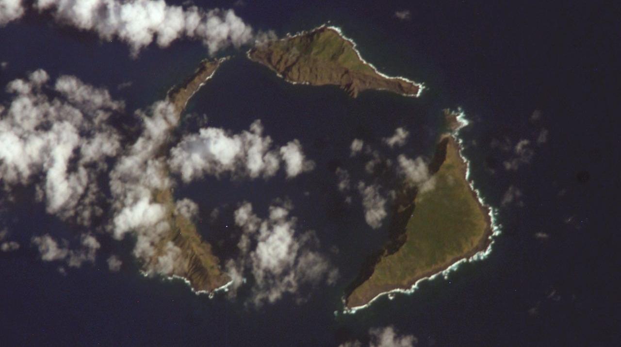 Pacific Islands - Satellite Footage