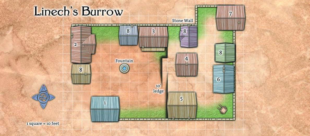 Ptolus - Linech's Burrow