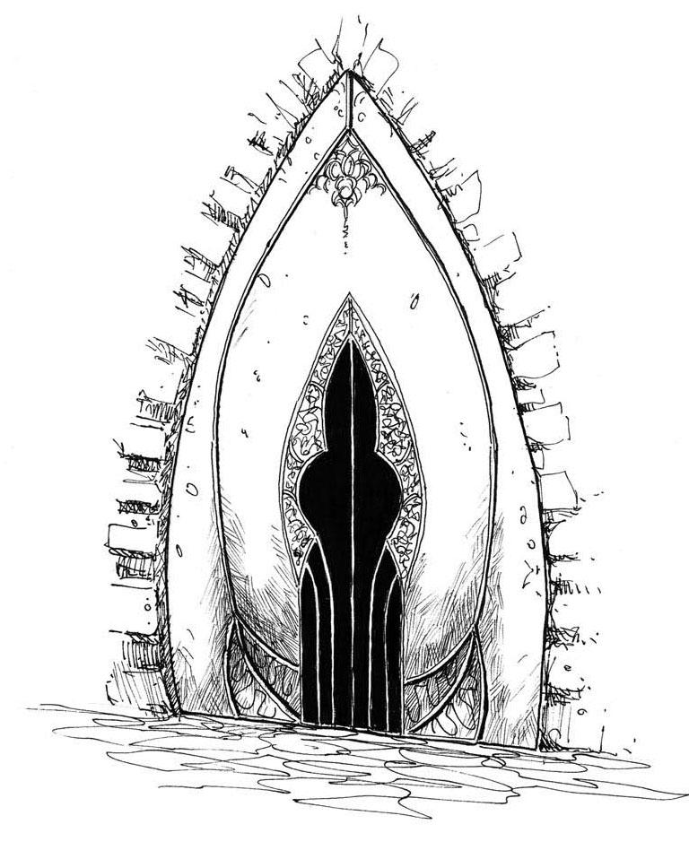 Ptolus - Bluesteel Door