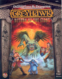 Greyhawk: Return of the Eight - Roger Moore