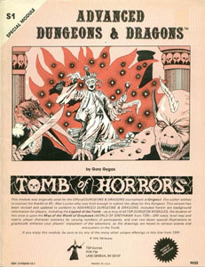 The Tomb of Horrors - Gary Gygax