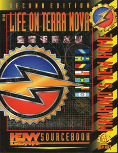 Heavy Gear: Life on Terra Nova - 2nd Edition