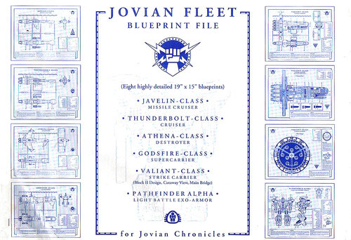 Jovian Chronicles: Jovian Fleet Blueprint File - Dream Pod 9