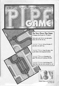 Very Clever Pipe Game - Cheapass Games