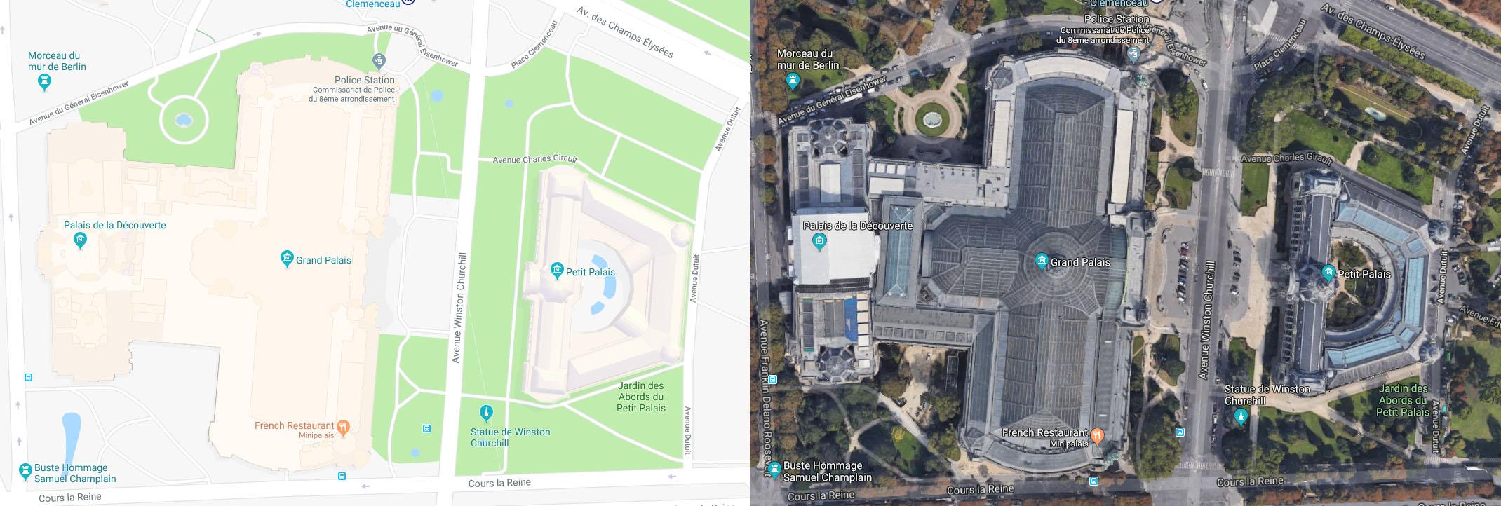 Paris - Grand Palais & Petit Palais