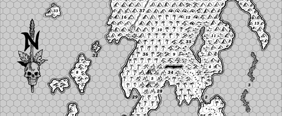 The Alexandrian » Reactions to OD&D – Hex-Clearing Procedures
