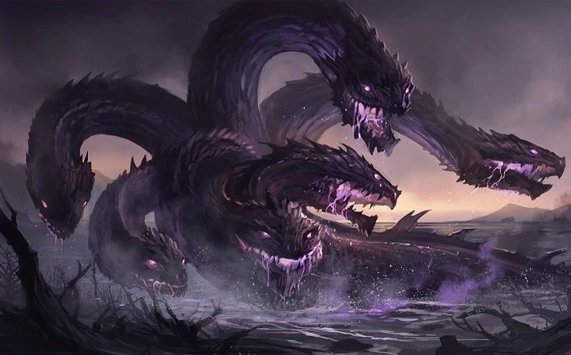 Hydra with Five Heads